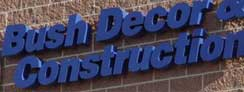 3D Painted Aluminum Company Signs